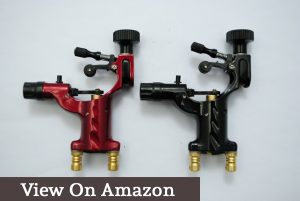 Yuelong® 2pcs Black&Red Dragonfly Rotary Liner Shader Body Art Tattoo Machine Gun