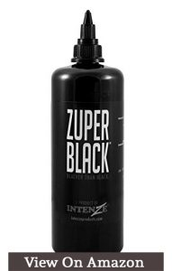 Intenze Tattoo Ink, Zuper Black