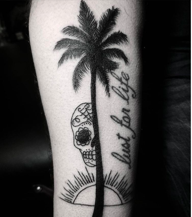 Palm Tree Tattoo Symbolism Meaning Most People Dont Know About