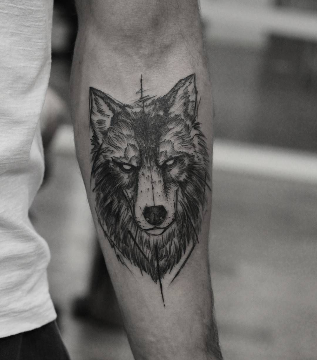 1ab2e5713 Wolf tattoos. Wolf's are closely related to the coyote, a favourite dog to  humans, and also generally the ancestor to dogs, man's best friends with  some ...