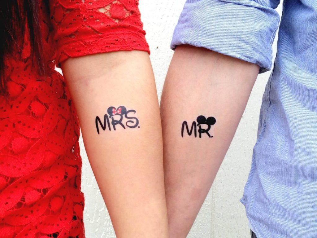 ae9ee907ff0a4 Matching Couple Tattoos - 12+ Ideas You've Never Heard Of