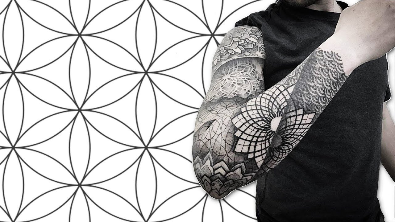 sacred geometry tattoos 30 ideas most people don t know about